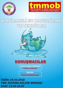 Dünya Su Günü 2018 Afiş