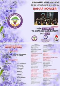 TSM BAHAR KONSERİ 2018