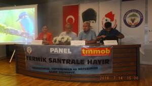 14 Temmuz 2018 Termik Santral Panel (3)
